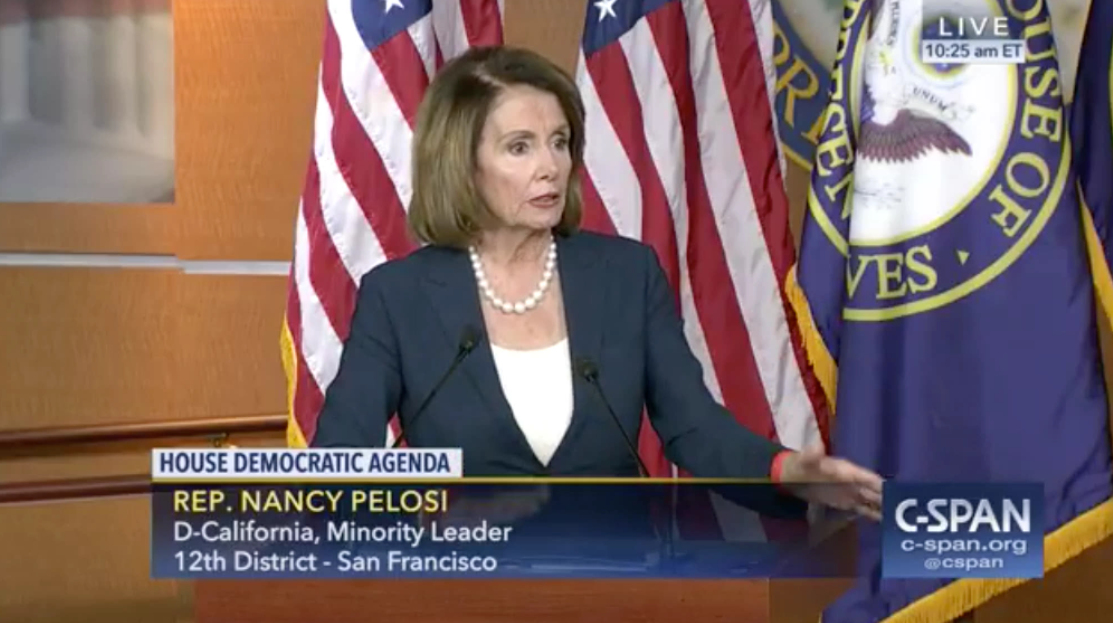 Pelosi: I'd Rather See Bush, Romney, or McCain; Trump Sleep Deprived