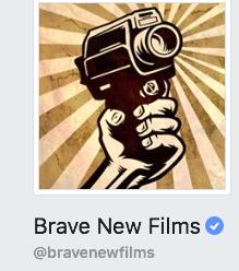 Brave New Film's Facebook logo