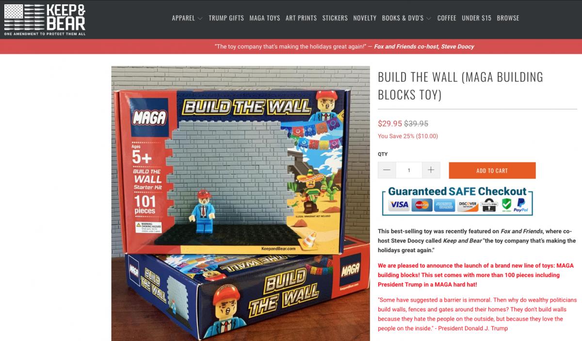 buildthewalltoy
