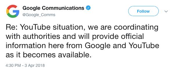 GoogleCommsTweet