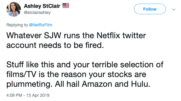 Stupid: Netflix Apparently Doesn't Want You to Call Chick Flicks