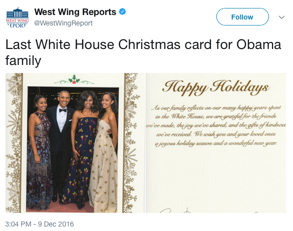 ObamaHolidayCard