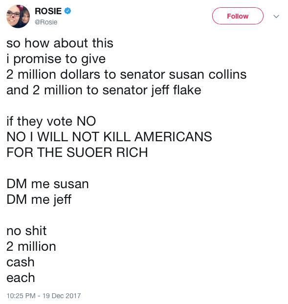 RosieTweet