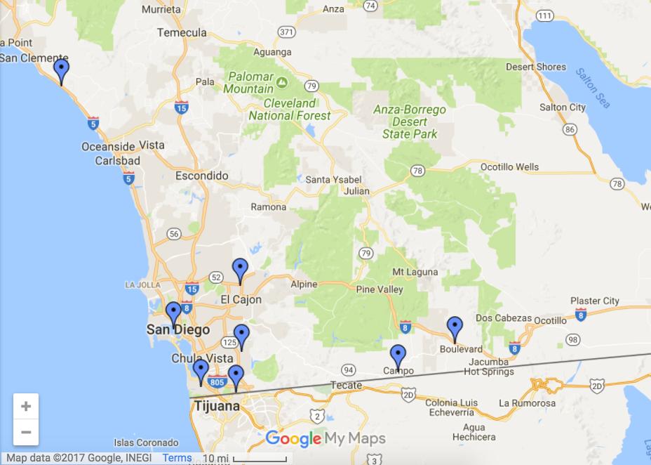 San Diego sector