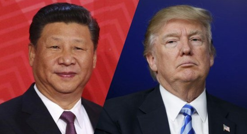 Trump and Jinping