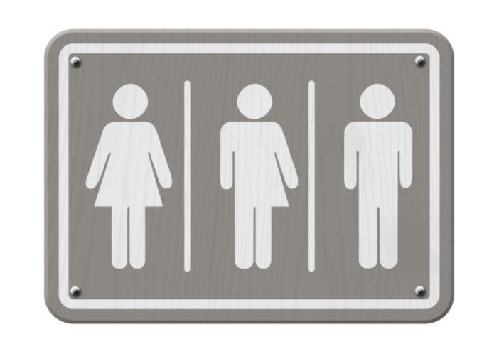 Gender neutral sign