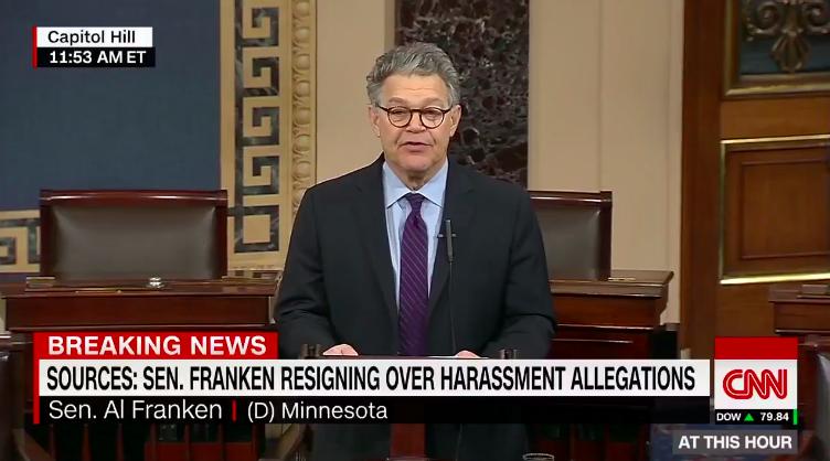 Al Franken to resign