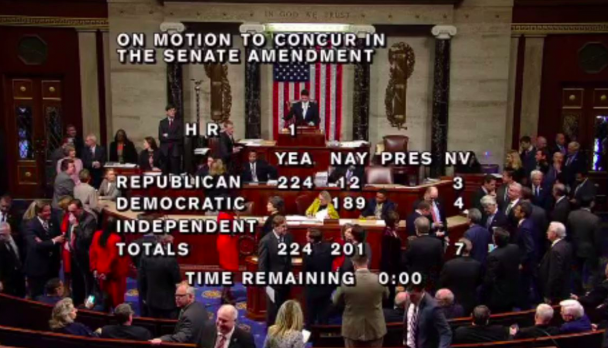 Vote passes House