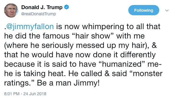 TrumpFallonTweet