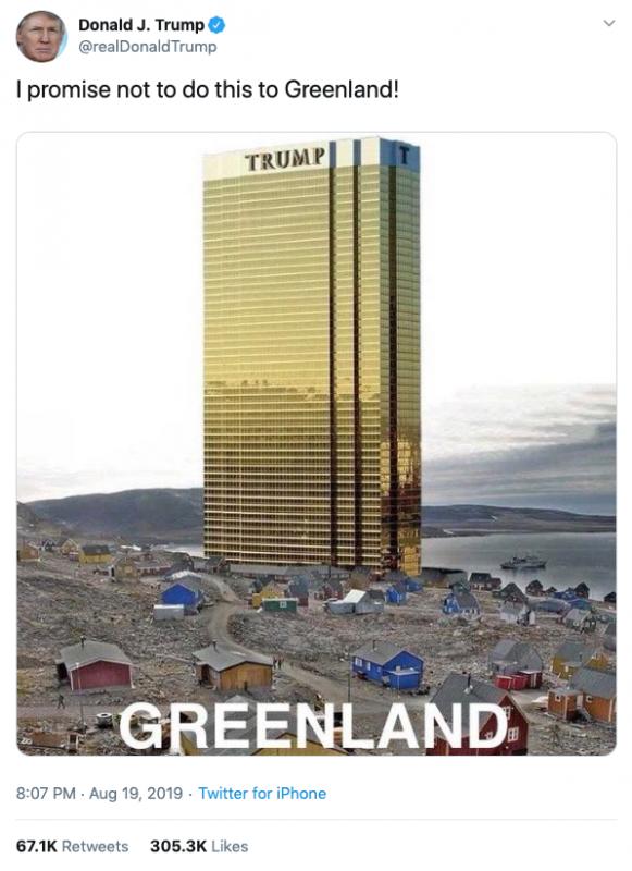 TrumpGreenland