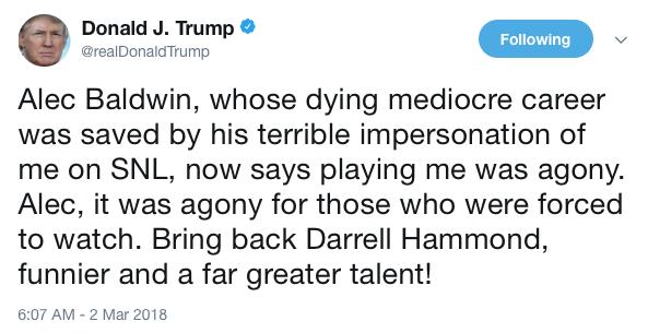 TrumpTweet