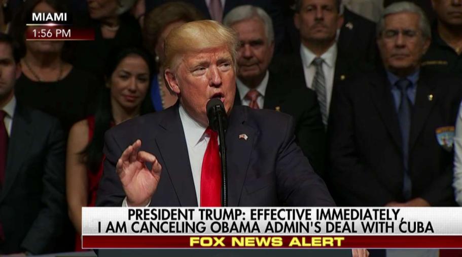 Trump Ends Cuba Deal
