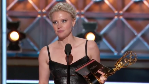 McKinnon at Emmys: 'Thank You to Hillary Clinton for Your Grace and Grit'
