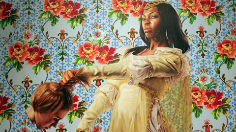 Obama Portrait Artist Also Painted Black Women Holding Severed White Heads