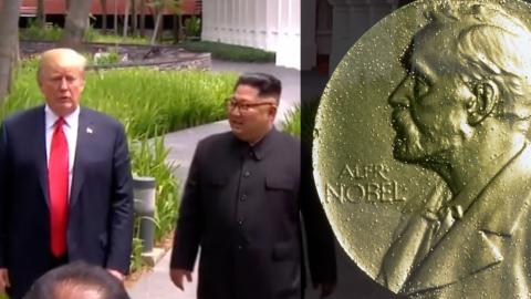 Norwegian Lawmakers Nominate Trump For Nobel Peace Prize