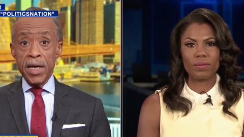 Omarosa Tells Sharpton: Trump 'Wants To Start A Race War'