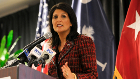 NYT Slams Nikki Haley For Spending $52K on Curtains...That Were Bought Under Obama
