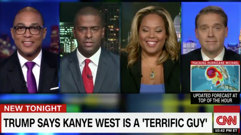 CNN Panelists Mock Trump Supporter Kanye West As a Token Negro' Who 'Can't Read'