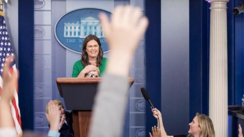 CNN's April Ryan: Sarah Huckabee Sanders 'Suffers From Lie-abetes'
