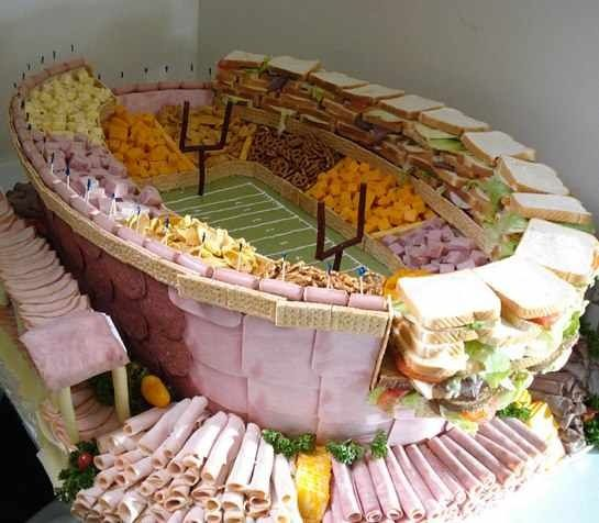 Check Out These AMAZING Super Bowl-Themed Snack Spreads