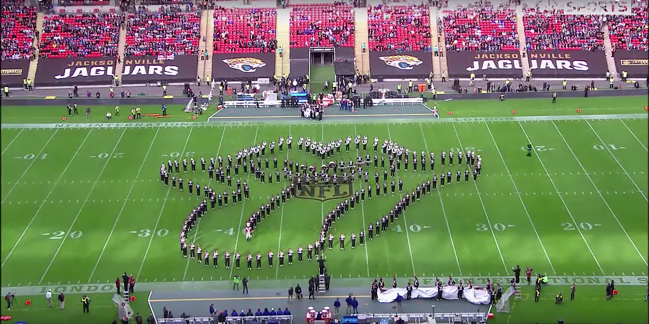 Ohio State Marching Band Stuns British Audience at NFL Game in London
