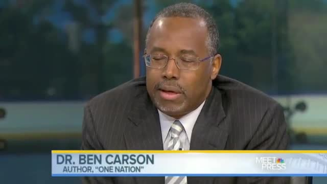 Dr  Ben Carson: Like 'Slavery,' Obamacare 'Robs You of Your