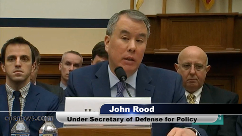 Image result for IMAGES OF defense undersecretary for policy, John Rood,