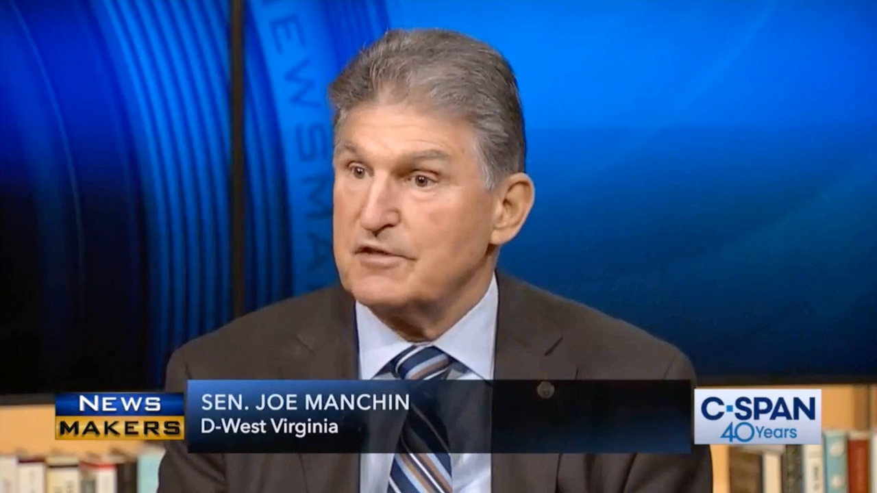 Sen. Manchin: 'I'm Worried' People Think Dem Party 'Has Gone ...