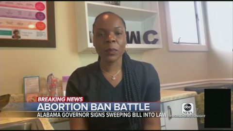 ABC, NBC Outraged By Alabama 'Openly Defying' Roe v  Wade