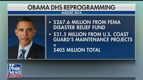 Fox News Recalls Obama Also Transferred FEMA Money | MRCTV