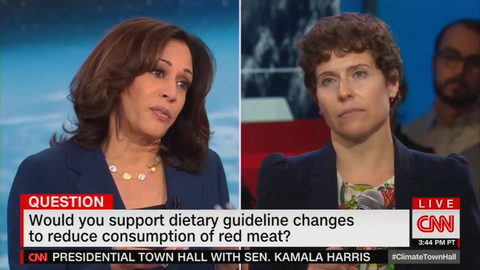 Harris Would Change Dietary Guidelines, Food Labels, to