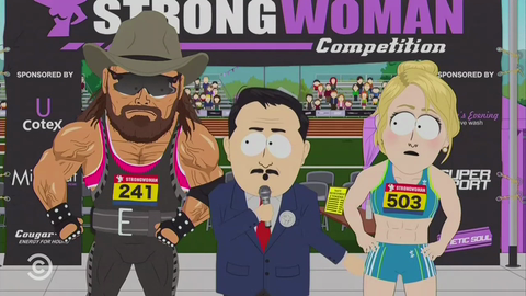 """South Park: """"Strong Woman"""" - Competition"""